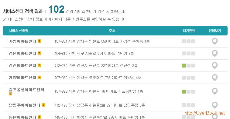 팬택 스마트폰 서비스센터 검색