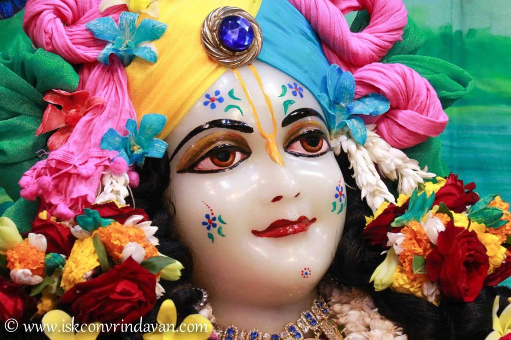 ISKCON Vrindavan Sringar Deity Darshan 26 Feb 2016 (2)