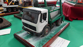 Dumper Mercedes Truck miniature model