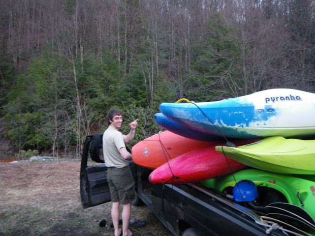 8 Boats. 1 Small Truck. Check.