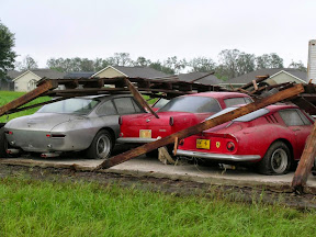 Abandoned Expensive Cars