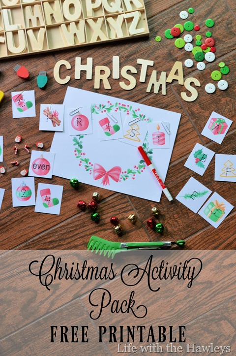 Christmas Activity Pack- Life with the Hawleys