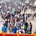 """आज नागरिक संघर्ष मोर्चा के बैनर तले गया के एतिहसिक गांधी मैदान से """" गांधी यात्रा"""" निकला"""