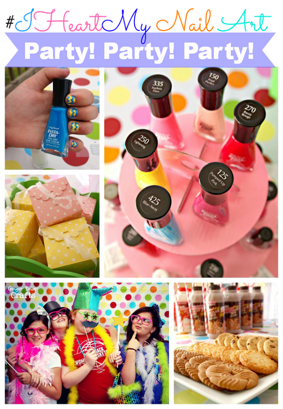 Our HUGE Sally Hansen #IHeartMyNailArt party at GingerSnapCrafts.com #cbias #ad_thumb[3]