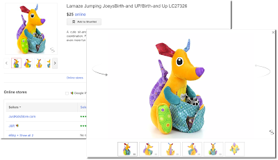 Google Shopping 3D