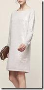 Reiss Sequinned Knitted Dress