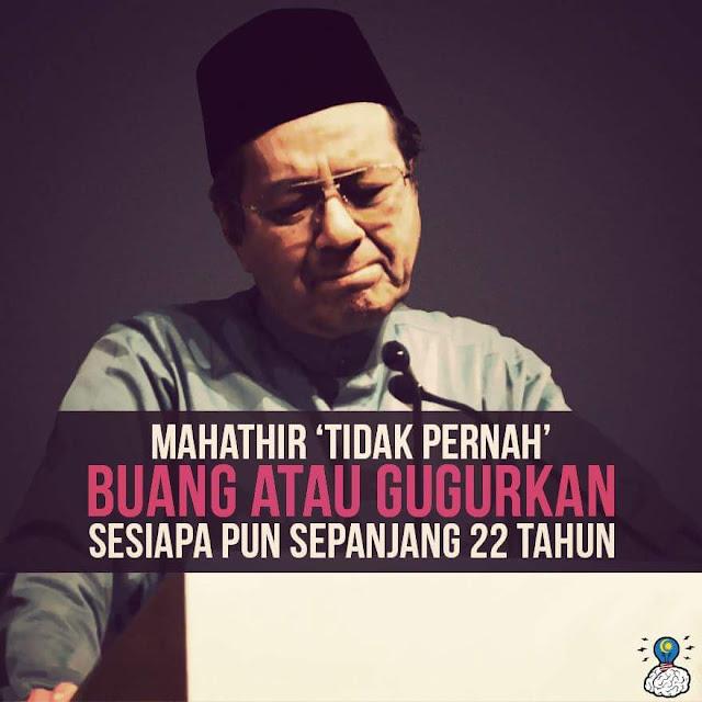 Tun Mahathir Sudah Nyanyok?