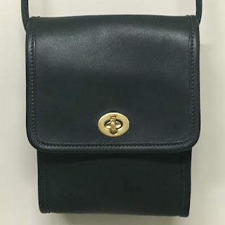 Coach Green Camera Bag