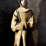 Francisco de Zurbaran - Saint François (Vers 1650 - 1660)
