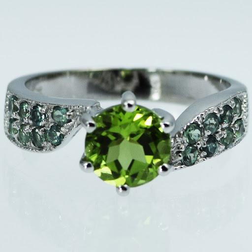Natural Alexandrite Wedding Rings 88 Unique