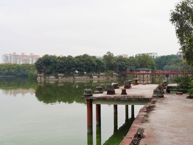 lake a Beihu Park in Yangjiang, Guangdong