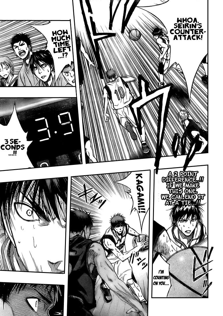 Kuroko no Basket Manga Chapter 123 - Image 11