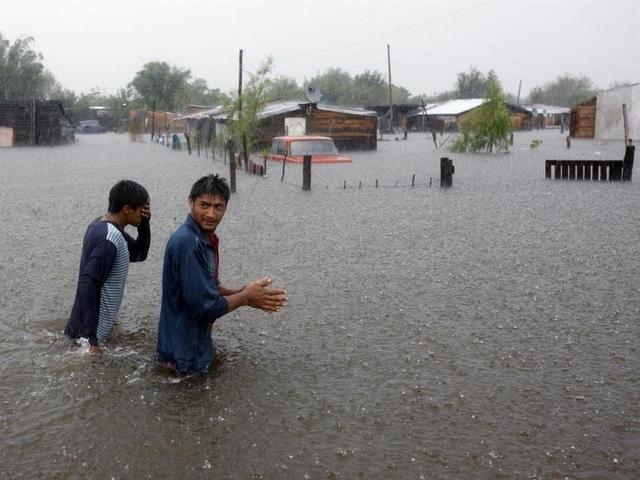 Las inundaciones en el Litoral afectaron a 40 mil personas
