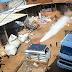 VÍDEO: EXPLOSÃO DE CILINDRO DE GÁS DEIXA DONO DE FERRO-VELHO FERIDO