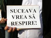 Suceava vrea să respire! - Protest împotriva distrugerii spaţiilor verzi din Suceava