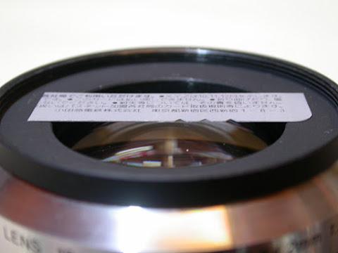 ステップアップリング装着後の前玉との間隔は2mmほど