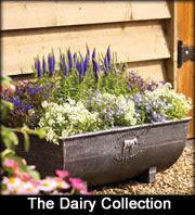 Apta dairy milk churn planters