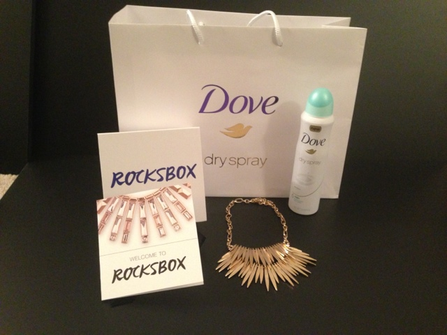 Dove Dry Spray and Rocksbox Jewelry had a fun party to promote both brands