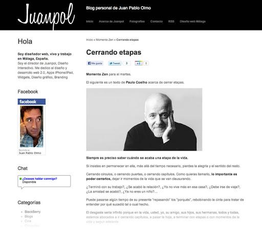 diseño de estrategia para blog