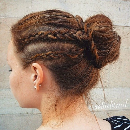 The Trendy Bun Hairstyles For Casual And Formal In Current Year 2017 19