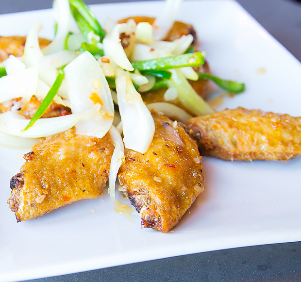 photo of Chicken wings with fish sauce