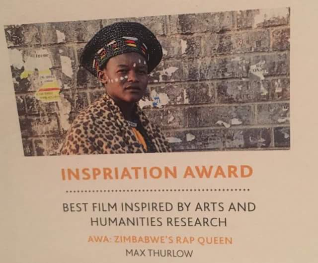 Zimbabwe's Rap Queen:Watch award winning Awa documentary