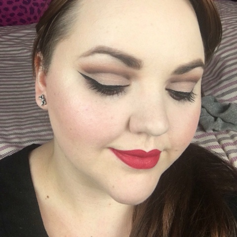 cut crease selfie by bex from bubblybex3 using the zoeva cocoa blend palette