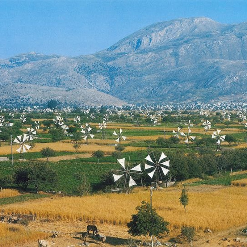 The Windmills of Lasithi Plateau
