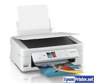 How to reset Epson XP-425 by software
