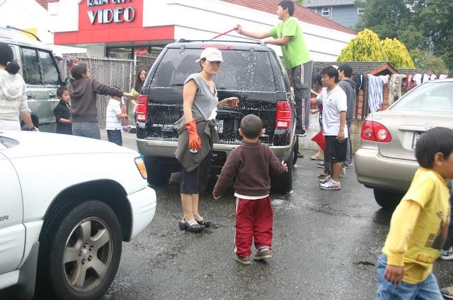 Tibetan Sunday School: Car Wash Fundraiser - IMG_4380.JPG