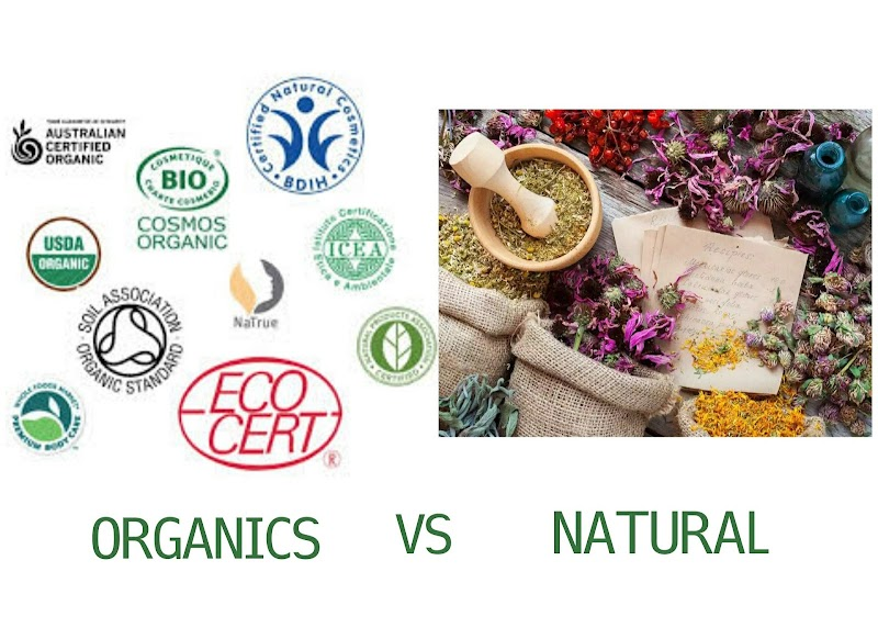 ORGANICS OR NATURAL-WHAT'S THE DIFFERENCE?