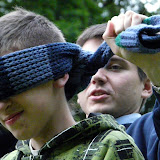 Walka ślepców w Parku Sołackim