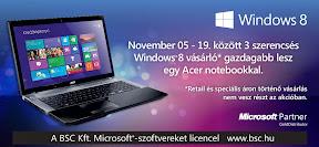 Microsoft Windows 8 reklám plakát tervezés.