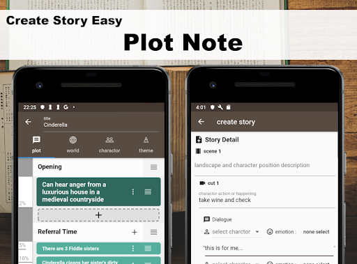 Story Plotter [ write novel, comic, movie!! ] screenshots 2