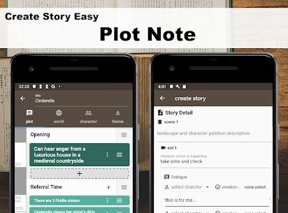 Story Plotter [ write novel, comic, movie!! ] 3.0.8 MOD Apk Download 2