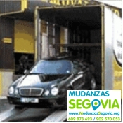 Mudanza de coches en Segovia