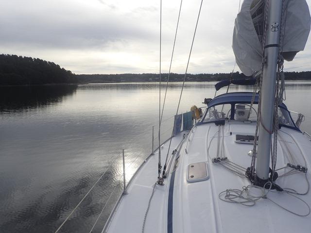 Oslofjorden Friluftsråds blå bøye ved Verksholmene