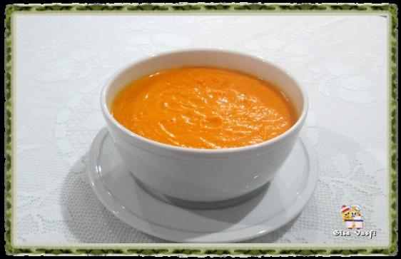 Sopa creme de cenouras 1