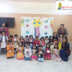 Diwali Celebration by SR KG Section at Witty World, Bangur Nagar (2018-2019)