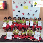 Star Shape Day Celebration by Nursery Section at Witty World Bangur Nagar (2018-2019)