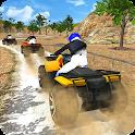 Offroad ATV quad bike racing sim: Bike racing game icon