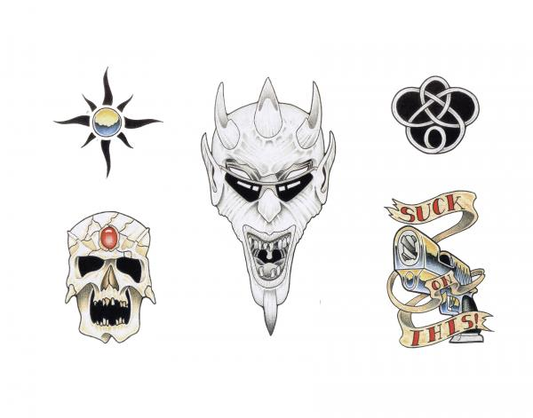 Design Of Horror Tattoo 13, Fantasy Tattoo Designs