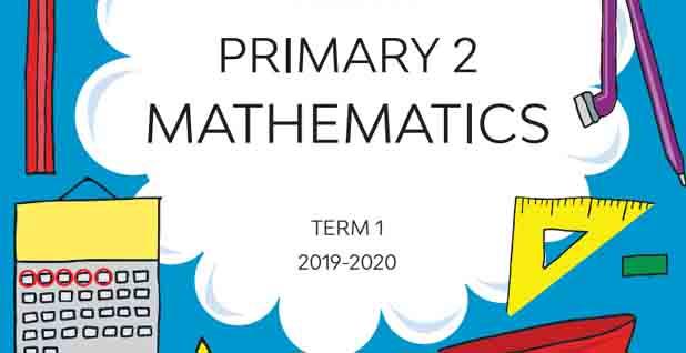 الكتاب المدرسي كاملا في الماث maths للصف الثاني الابتدائي الترم الأول 2021