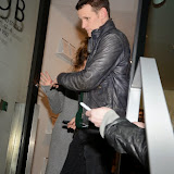 OIC - ENTSIMAGES.COM -  Matt Smith Attends Hayden Kays: The Top Ten - private view British pop artist returns with his first solo exhibition of 2015, showcasing ten pieces from his celebrated typewriter series in London on the 2nd April 2015. Photo Mobis Photos/OIC 0203 174 1069