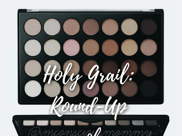 Holy Grail: Round-Up of Affordable Eyeshadow Palettes