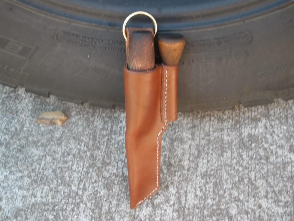 Another necker and homemade firesteel