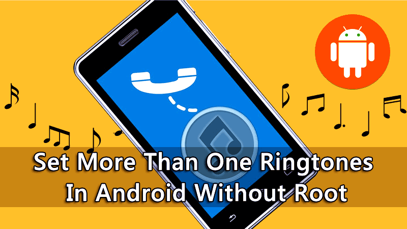 random ringtones in android device