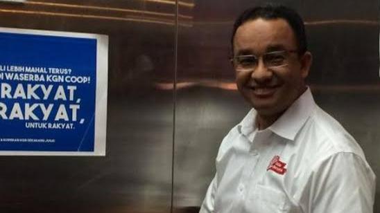 Warga Indonesia Harusnya Bangga Punya Pemimpin Seperti Anies Baswedan Karena Tak Pernah Marah Dikritik