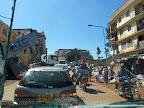 Kind of traffic jam somewhere between Kisumu and Masai Mara