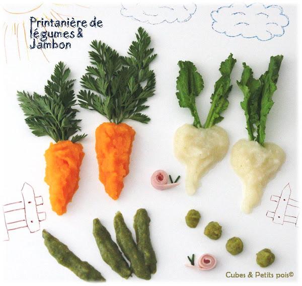 customiser-assiette-bebe-des-legumes-de-printemps-dans-jardin